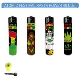 ATOMIC ENC. FESTIVAL RASTA POWER 48 Uds. 39.35285
