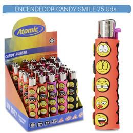 ATOMIC ENC. CANDY RUBBER SMILE 25 Uds. 39.08003