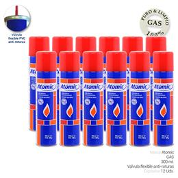 ATOMIC GAS VALVULA PVC 300 ml. 12 Uds. 01.42014
