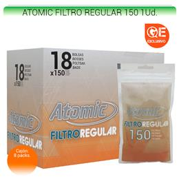 ATOMIC FILTROS REGULAR 150 18 Uds. 01.63100