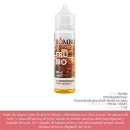 BOMBO E-LIQUID TRUBIO BOOSTER 00 mg 50 ml 1 Ud.