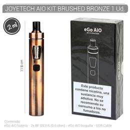 JOYETECH AIO START KIT BRUSHED BRONZE 1 Ud. [406587]