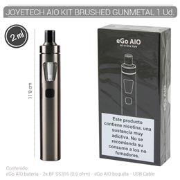 JOYETECH AIO START KIT BRUSHED GUNMETAL 1 Ud. [406594]