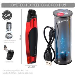 JOYETECH EXCEED EDGE KIT RED 1 Ud. 99644409