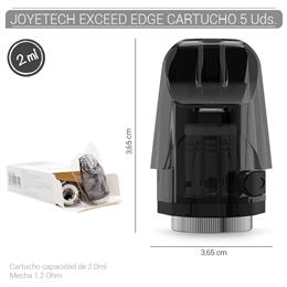 JOYETECH EXCEED EDGE CARTRIDGE 2ml 5 Uds. 99646224