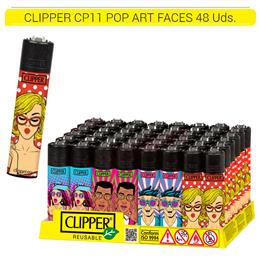 CLIPPER CP11 POP ART FACES 48 Uds.