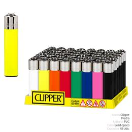 CLIPPER CP11 COLORES SOLID OPACO 48 Uds.