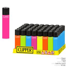 CLIPPER CP11 COLOR SOLID FLUO OPACO 48 Uds.