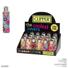 CLIPPER FCP501H FUNDA CP22 FLOWERS 24 Uds.