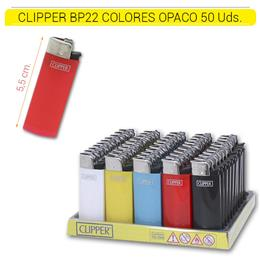 CLIPPER BP22 COLORES OPACO 50 Uds.
