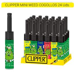 CLIPPER ENC. MTM3B007 MINI TUBE WEED COGOLLOS 24 Uds.
