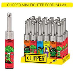 CLIPPER ENC. MTM3B008 MINI TUBE FIGHTER FOOD 24 Uds.