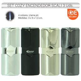 SET COZY ENC. JET SCALI 3 Uds. 24.25100