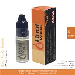 COOL VAPS E-LIQUID MANGO TROPICAL 00 mg 10 ml 1 Ud. CV002