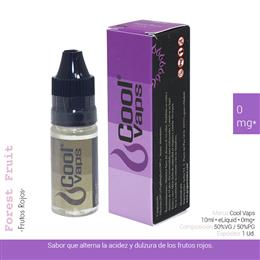 COOL VAPS E-LIQUID FRUTOS ROJOS 00 mg 10 ml 1 Ud. CV006