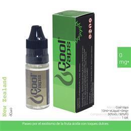 COOL VAPS E-LIQUID KIWI 00 mg 10 ml 1 Ud. CV011