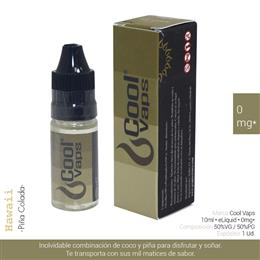 COOL VAPS E-LIQUID PIÑA COLADA 00 mg 10 ml 1 Ud. CV013