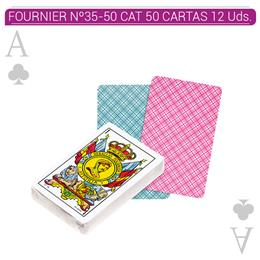 FOURNIER Nº35-50  CAT. 50 CARTAS 12 Uds. 20996