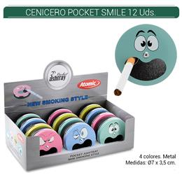 CENICERO ATOMIC POCKET SMILE 12 Uds. 02.46800