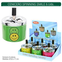ATOMIC CENICERO SPINNING SMILE 6 Uds. 02.09907