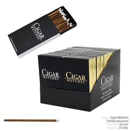 FOSFORO CIGAR MATCHES 20 Uds.