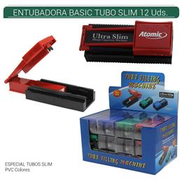 ENTUBADORA ATOMIC BASIC SLIM 12 Uds. 04.01001