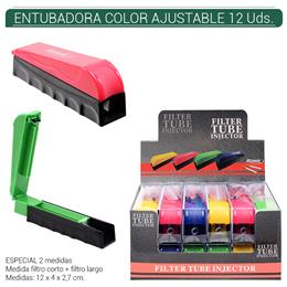ENTUBADORA ATOMIC COLOR AJUSTABLE 12 Uds. 04.01201