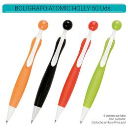 BOLIGRAFO HOLLY JUMBO COLORES SURTIDOS 50 Uds. IAG.2040