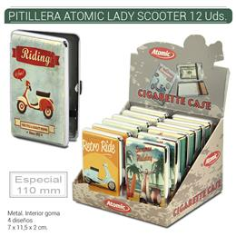 PITILLERA ATOMIC LADY SCOOTER 110mm 12 Uds. 04.10815