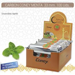 CARBON CONEY MENTA 33 mm. 100 Uds. 01.23010