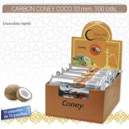 CARBON CONEY COCO 33 mm. 100 Uds. 01.23012