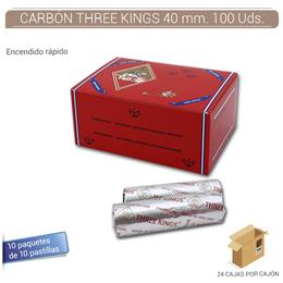 CARBON THREE KINGS 40 mm. 100 Uds.