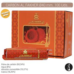 CARBON AL FAKHER 40mm. 100 Uds. 1003265