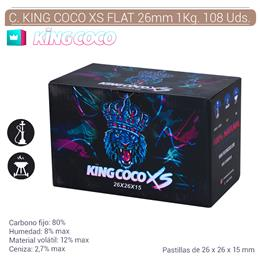 CARBON KING COCO XS FLAT 26 mm. 1 Kg. 108 Uds. 124.802