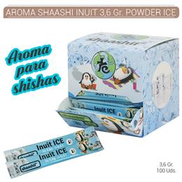AROMA SHAASHI INUIT 3,6 Gr. POWDER ICE 100 Uds. SHA-STICK