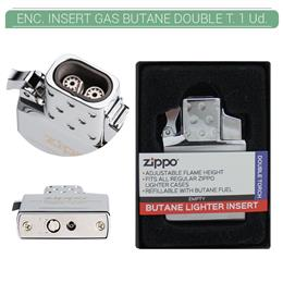 ZIPPO ENC. INSERT GAS BUTANO DOUBLE TORCH 1 Ud. 2006816