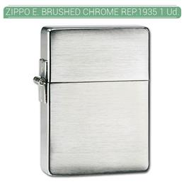 ZIPPO ENC. BRUSHED CHROME REP.1935 1 Ud. 60001173