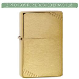 ZIPPO ENC. 1935 REPLICA BRUSHED BRASS 1 Ud. 60000808