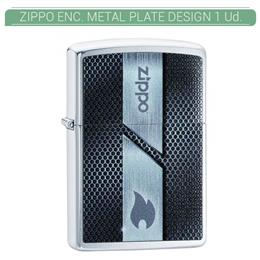 ZIPPO ENC. METAL PLATE DESIGN 1 Ud. 60004055