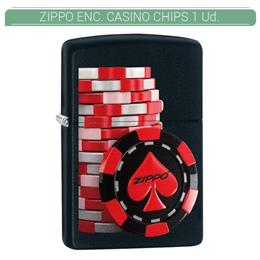ZIPPO ENC. CASINO CHIPS 1 Ud. 60003315
