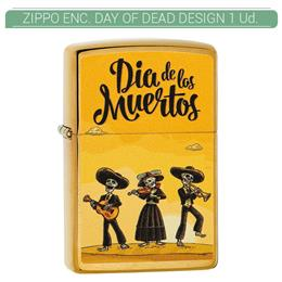 ZIPPO ENC. DAY OF DEAD DESIGN 1 Ud. 60004354