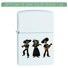 ZIPPO ENC. DAY OF DEAD COLOR DESIGN 1 Ud. 60004355