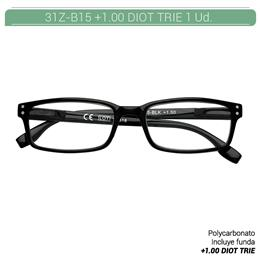 ZIPPO READING GLASSES +1.00 DIOT TRIE 1 Ud. 31Z-B15-BLK100 [2006185]