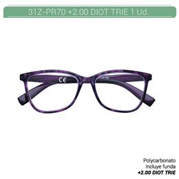 ZIPPO READING GLASSES +2.00 DIOT TRIE 1 Ud. 31ZPR70200