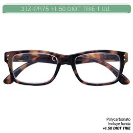 ZIPPO READING GLASSES +1.50 DIOT TRIE 1 Ud. 31ZPR75150