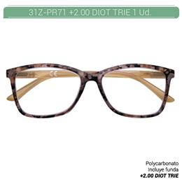 ZIPPO READING GLASSES +2.00 DIOT TRIE 1 Ud. 31ZPR71200