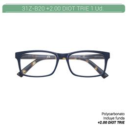 ZIPPO READING GLASSES +2.00 DIOT TRIE 1 Ud. 31ZB20200