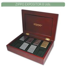 ZIPPO EXPOSITOR MADERA 8 Uds. 50859623