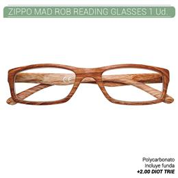 ZIPPO MAD ROB READING GLASSES +2.00 DIOT TRIE 1 Ud. 2005522