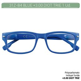 ZIPPO B-CONCEPT 31Z-B4 READING GLASSES BLUE +3.0 DIOT TRIE 1 Ud. 2004932